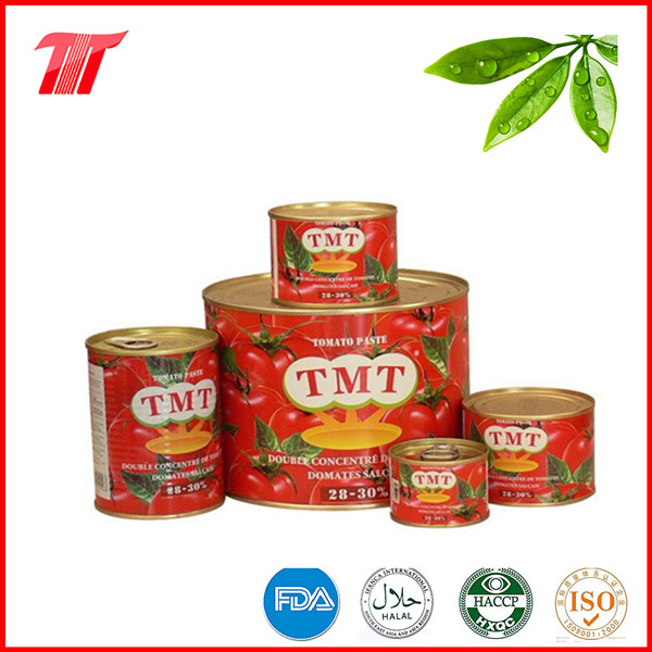 High Quality Canned Tomato Paste for Turkey