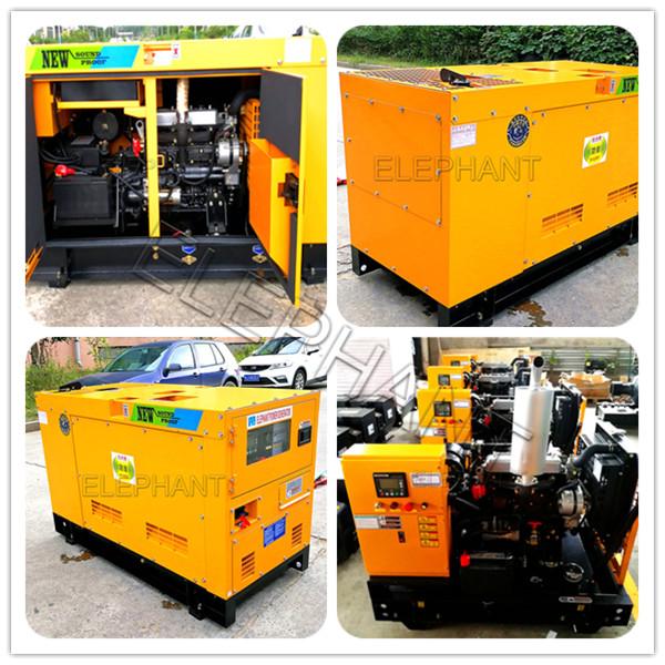 60kVA Deutz Engine Soundproof Diesel Generator