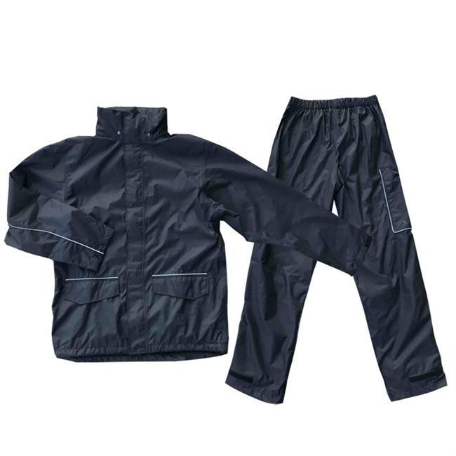 New Mens Polyester Oxford Waterproof Rain Pants