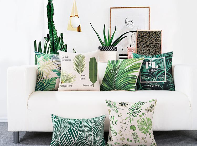 Home Decorative Leaf Pillows