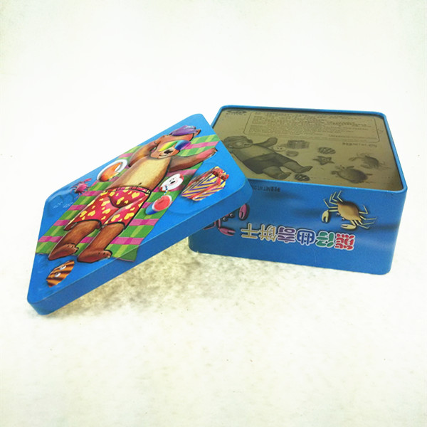 Wholesale Metal Cookie Tin Container Packaging