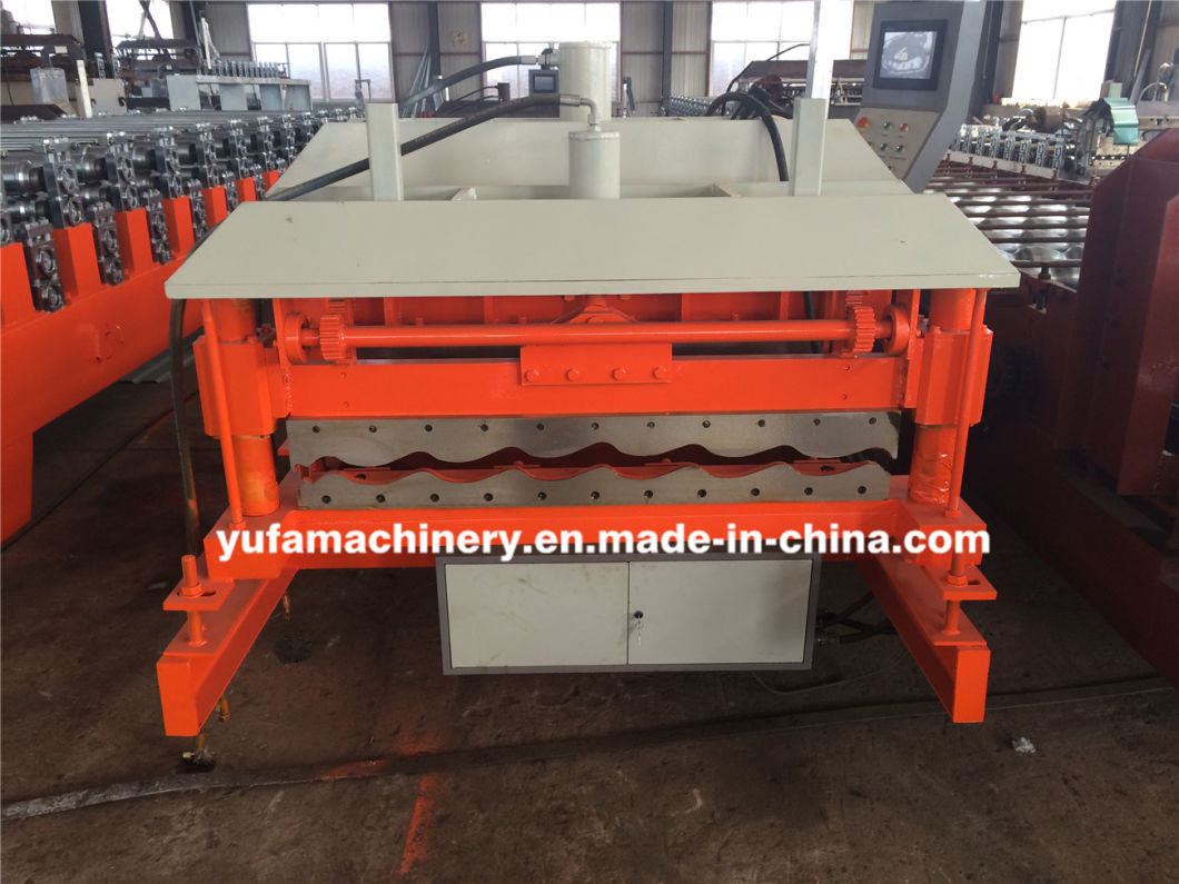 PLC Control Colored Cold Steel Glazed Roof Tile Making Machine /Glazed Roof Tile Machine/Step Tile Roofing Sheet Roll Forming Machine