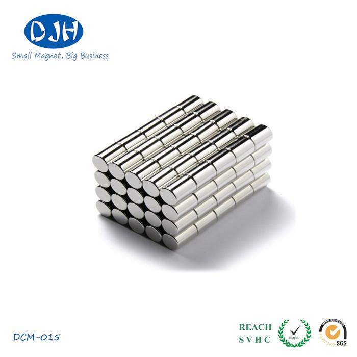 Sintered Cylinder Magnets High Power Standard N35 Grade