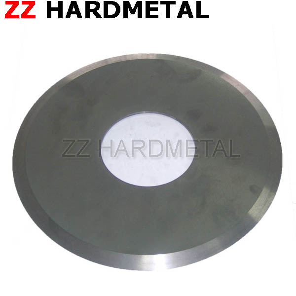 High Speed Tungsten Carbide Steel Paper Corrugated Files Slitting Cutter