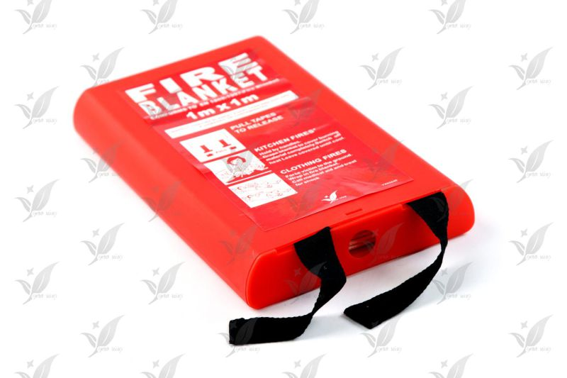 100% Fiberglass Fire Blanket Home Use