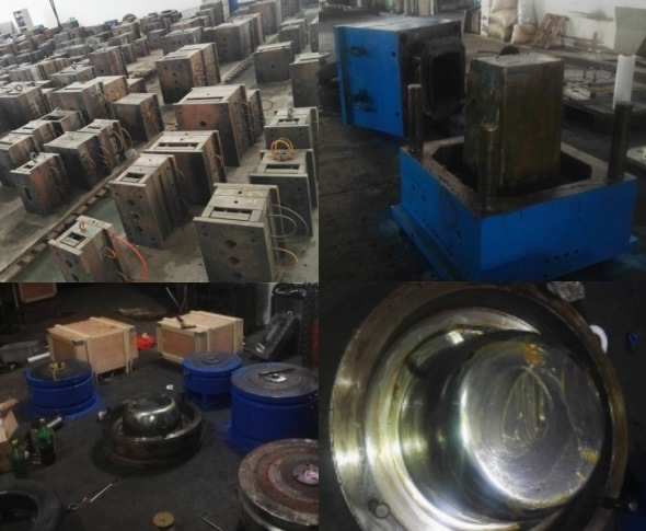 800*570*510 Second Hand Plastic Used Vegetable Turnover Basket Injection Mould