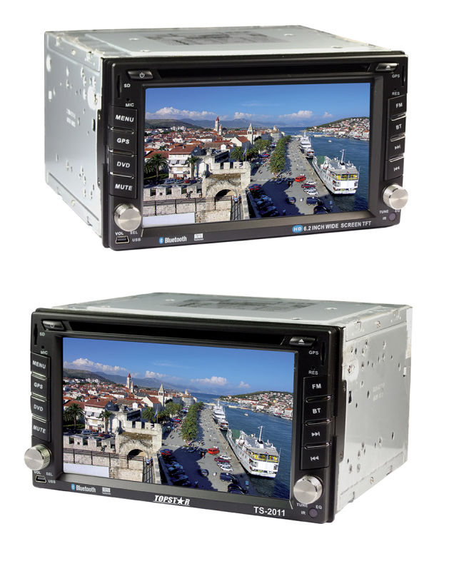 6.2inch Double DIN 2DIN Car DVD Player with Android System Ts-2011-1