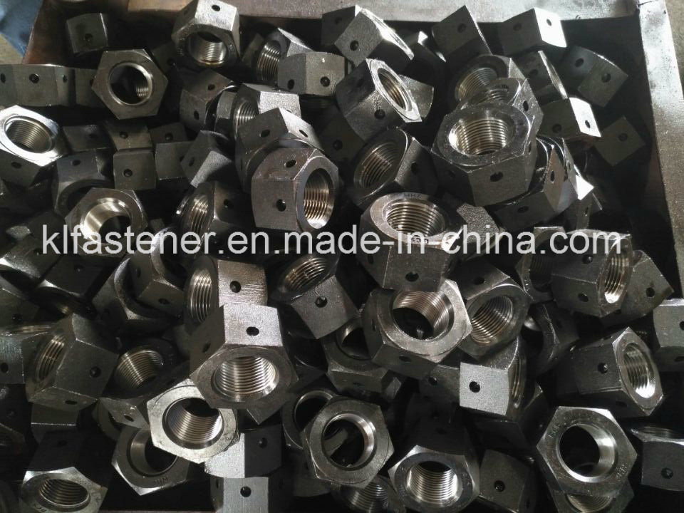 Heavy Hex Nut A194 Gr2hm with  Tommy Bar Hole