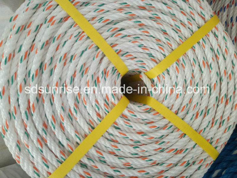 PP Danline Rope White with Green and Red
