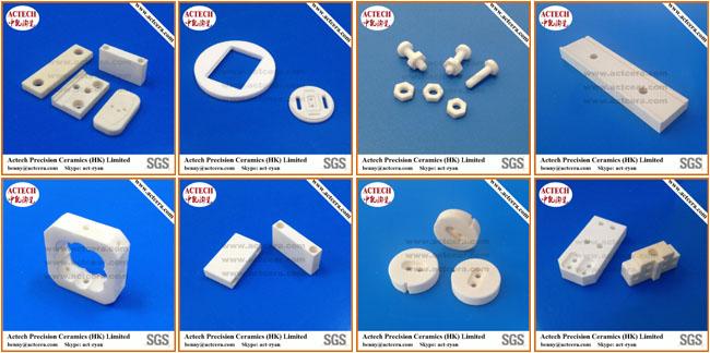 Supply Black Zirconia Ceramic Parts