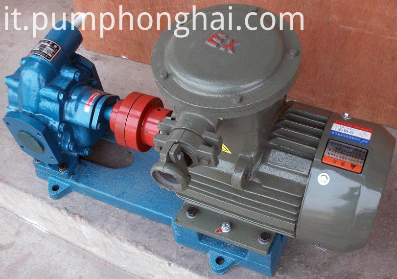 KCB135-483.3 cast iron gear pump