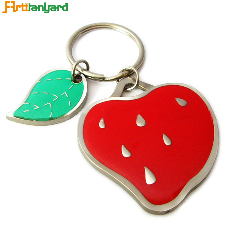 Colorful Customized Fashion Metal Keychain