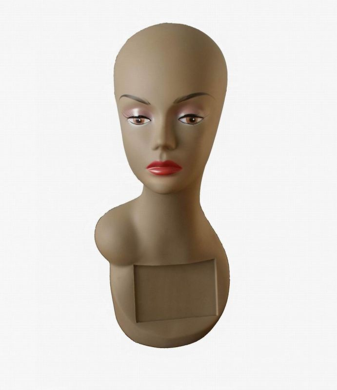 Mannequin Head Hair Display Mannequin Head PVC Mannequin Head