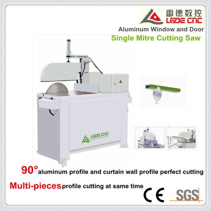 Alumium Windows and Doors Processing Machine Window and Door Single Mitre Cutting Saw
