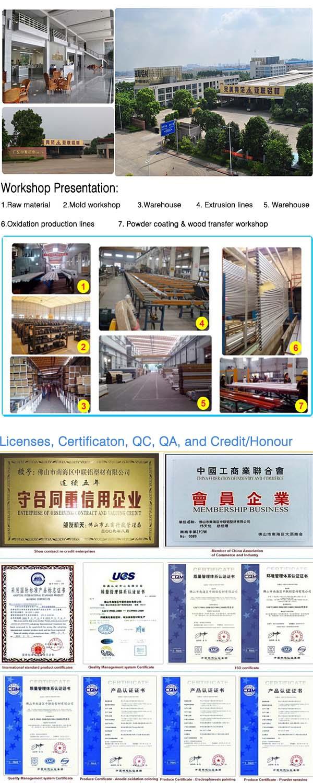 Foshan Factory Aluminium Extrusion CNC Aluminium Profile CNC
