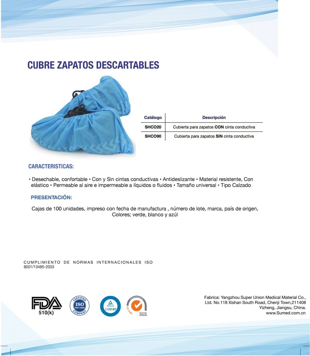 Disposable Anti Skid Non Woven Fabric Shoe Covers