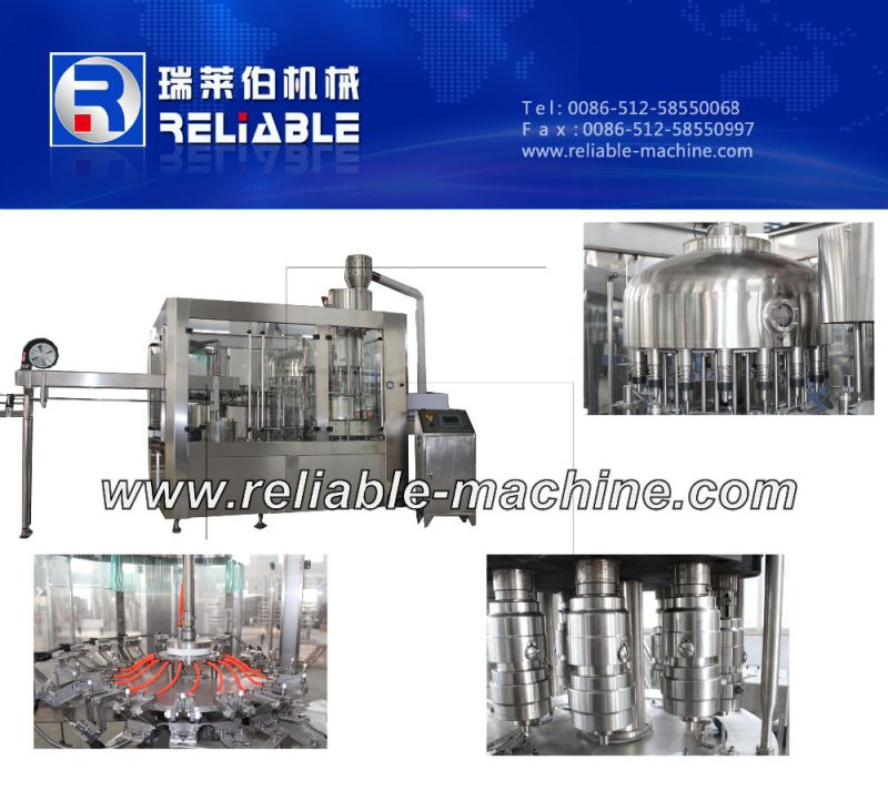Automatic PLC Control Drinking Water Bottle Filling Machine