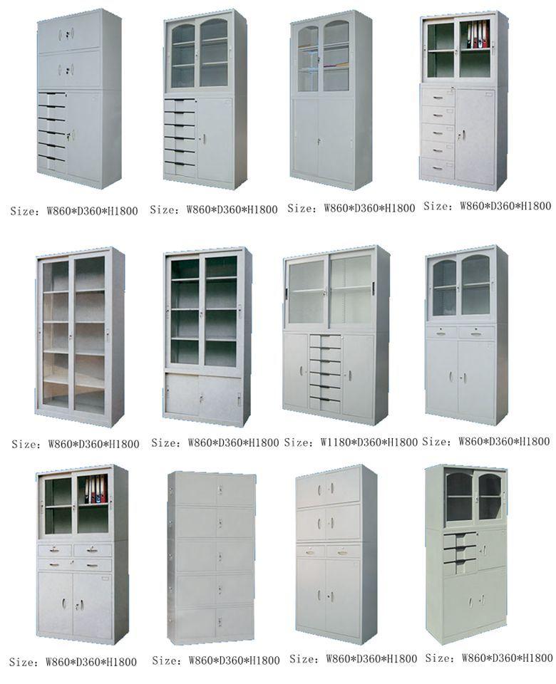 6-Door Office Equipment Steel Filing Cabinet