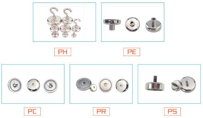 Neodymium Magnet Composite and Permanent Type Neodymium Pot Magnet