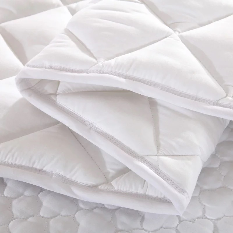 Waterproof Breathable & Washable Pure Cotton Mattress Protector (JRD627)