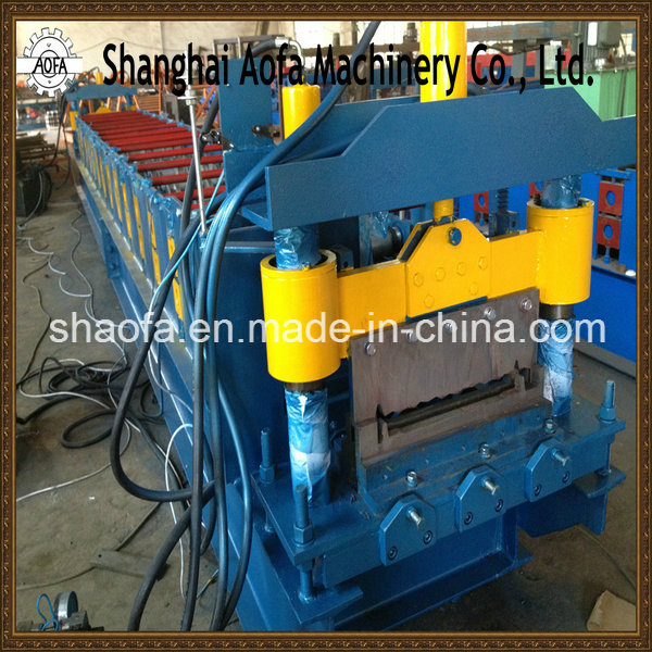 Joint-Hidden Roof Panel Roll Forming Machine (AF-R360)