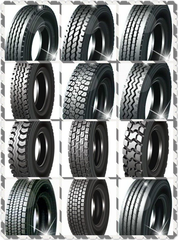 All Steel Heavy Duty New Radial TBR Truck Tire