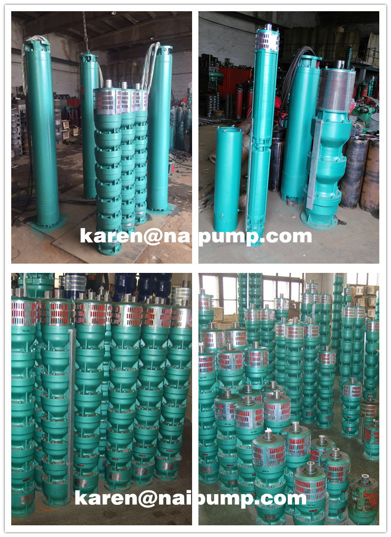 Qj Series Deep Well Submersible Pumps