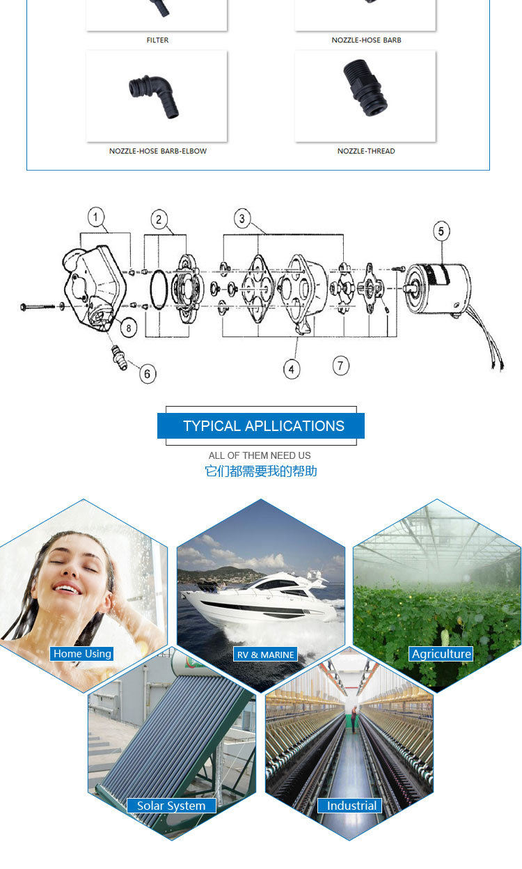 Lifesrc Washer Pump (FL-100)