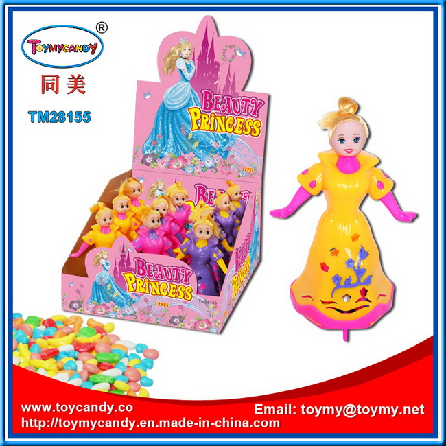 Hot Selling Plastic Doll Kids Toy with Sweet Candy