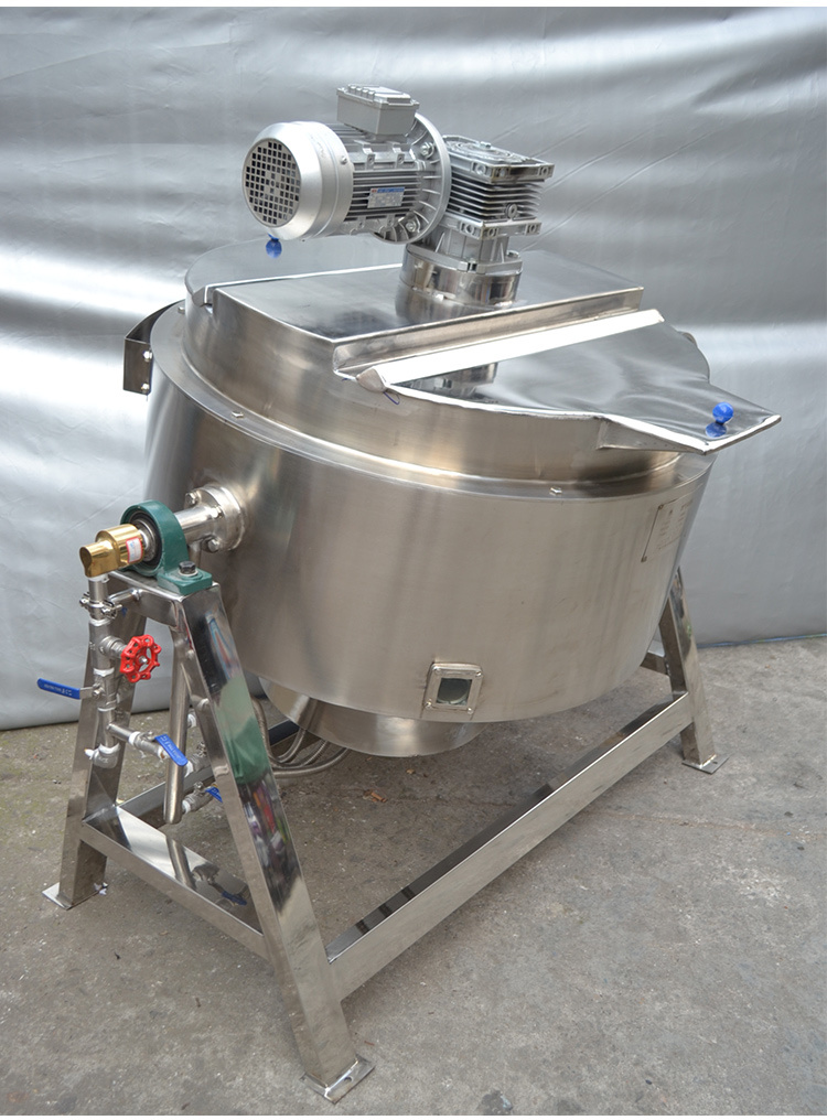 Good Quality Steam Heating Kettle Pot/Jacked Pot for Food