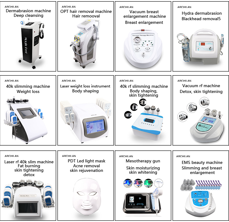 Ultrasonic Machine Cold Hot Device Face Massager Vibrator