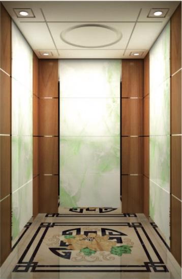 Passenger Elevator Lift Mirror Etched Mr & Mrl Aksen Hl-X-064