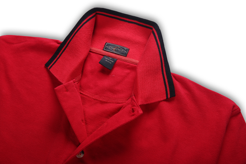 Red Color High Quality Mens Custom Polo Shirt