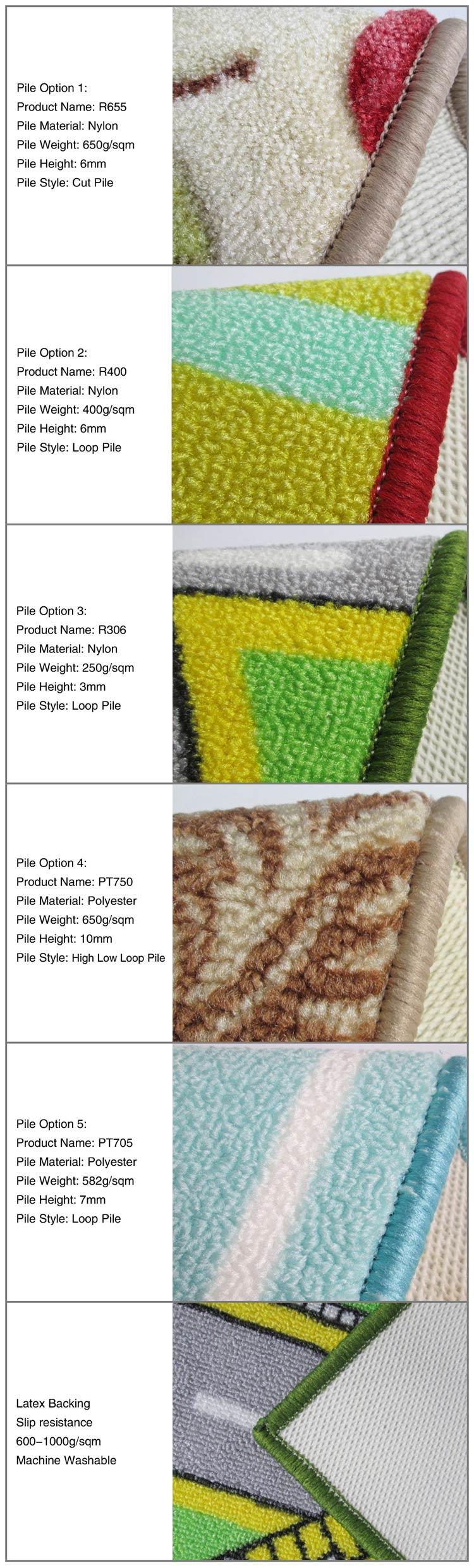 Anti Slip Dust Control Mat Carpet for Sale