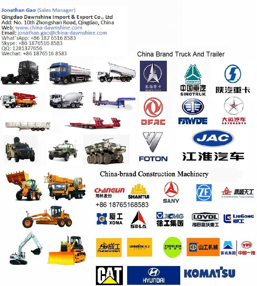 Beiben 6*4 Driving 20000L Fuel Tank Truck