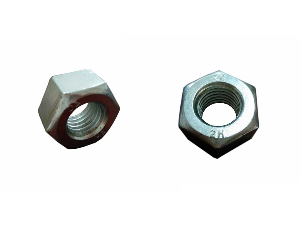 Heavy Hexagonal Head Zinc Plated High Strength Nuts ASTM A194