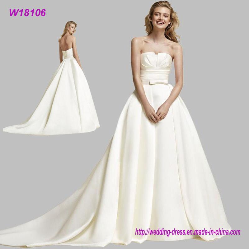 Elegant Cheap Customized Sweetheart Wedding Dress
