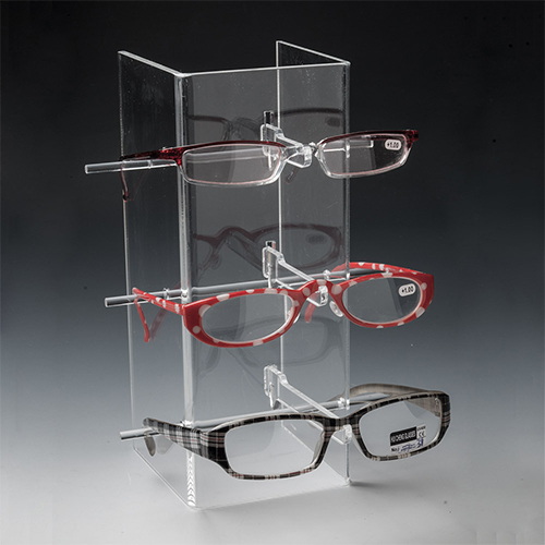 Acrylic Desktop Eyewear Display/Perspex Glasses Stand