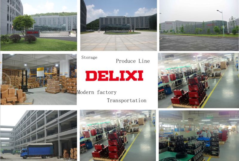 Delixi 1-Phase/3-Phase 220V 380V 440V 660V Variable Frequency Inverter