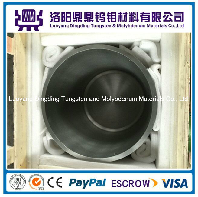 High Purity Tungsten Crucibles/Molybdenum Crucibles for Vacuum Furnace