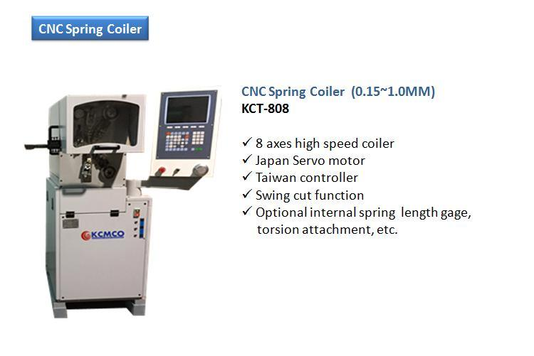 8 Axis High Speed Nozzle Spring Coiling Machine&Spring Coiler