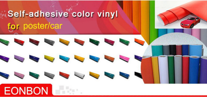 Self Adhesive Car Sticker Vinyl Sheets