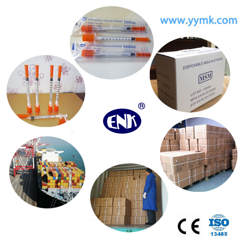 Disposable 1cc Insulin Syringes 0.5cc Insulin Syringes 0.3cc Insulin Syringes (ENK-YDS-052)