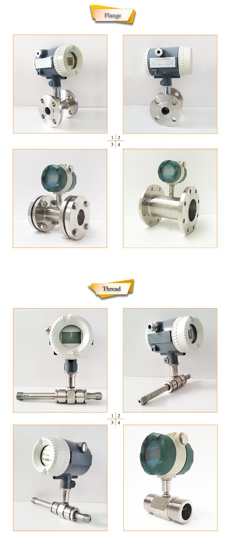 Turbine Water Flow Meter