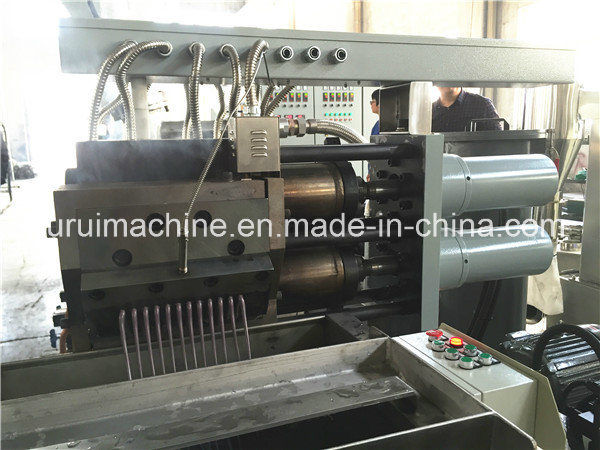Counter Parallel Twin Screw Extruder for PC Pelletizing (TSSK65)