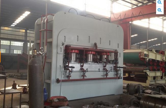 Manual Saving Automatic Production Line of Board Hot Press Short Cycle Lamination Hot Press