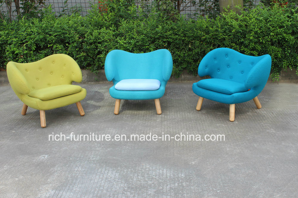 2015 Hot Sale Fabric Finn Juhl Fiberglass Pelican Lounge Chair