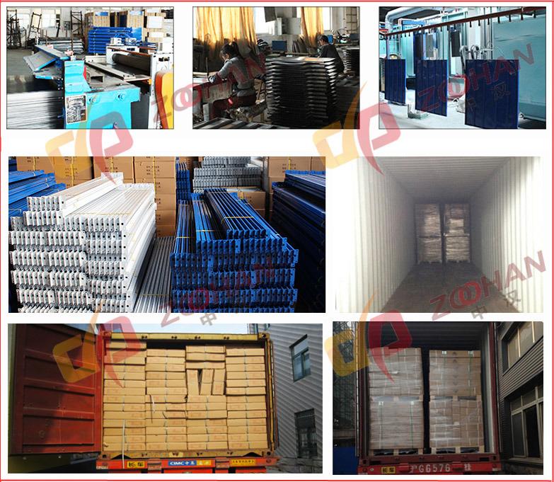 Industrial Stackable Folding Steel Supermarket Storage Wire Mesh Cage (Zhra30)