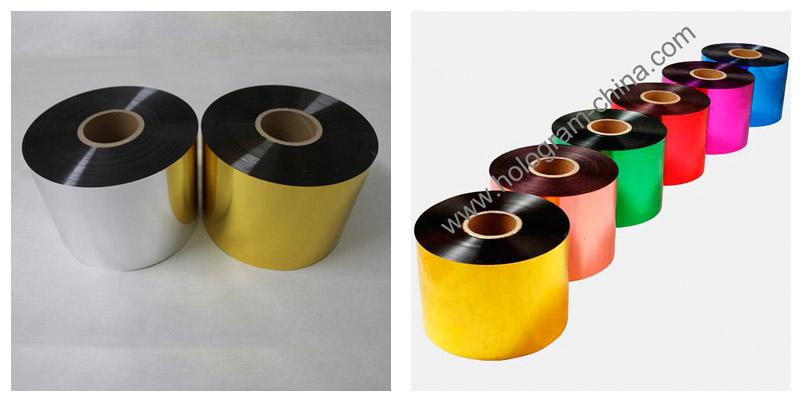 Colorful Tamper Evident Aluminum Foil