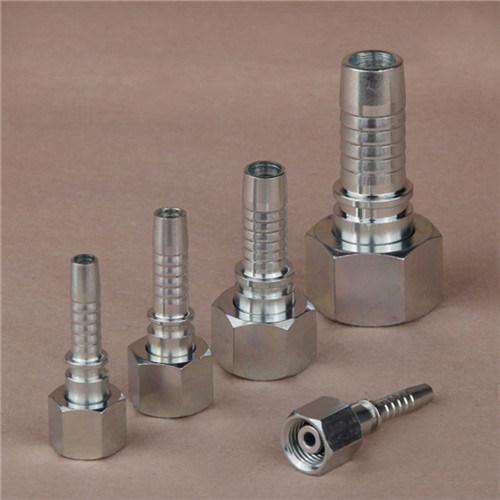 DIN 3865 Zinc Plated Metric Male Hydraulic Hose Fitting